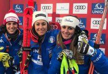 Podio italiano en Bad Kleinkirchheim (Austria) con Sofia Goggia, Federica Brignone, Nadia Fanchini