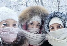 El frío de hasta -65ºC ha paralizado más de 107 escuelas, donde estudian más de 9.600 alumnos