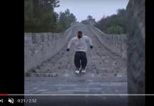 Gran bajada por la Muralla China