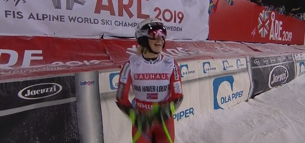 Nina Haver-Loeseth ha logrado hoy su segunda victoria en una carrera de la Copa del Mundo