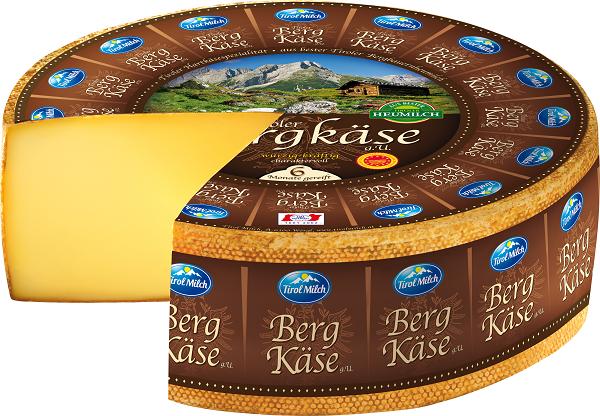 El Tiroler Bergkäse es uno de los quesos más apreciados de la región
