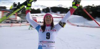 Wendy Holdener ha obtenido su primera victoria de la temporada en la combinada de Lenzerheide, donde ya ganó hace dos años