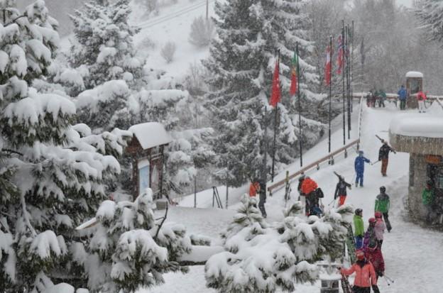 La nieve, compañera inseparable de las pistas aranesas