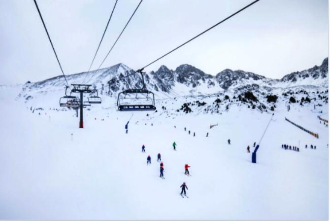 Grandvalira cierra con un balance satisfactorio de esquiadores las vacaciones de Navidad