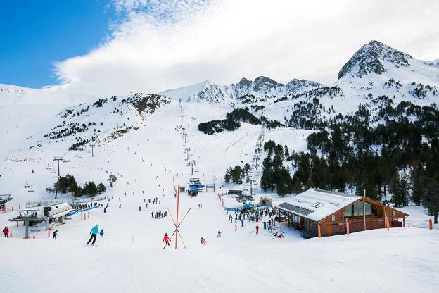 Las condiciones de nieve permiten tener abiertos 200 Km de pistas