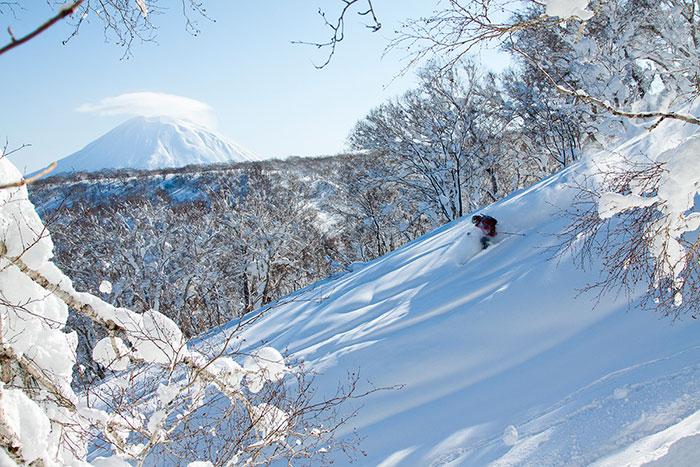 Otra instantánea del Director de Tot Temps Esquí disfrutando de una impresionante bajada