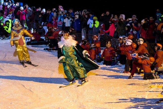 Melchor, Gaspar y Baltasar llegarán a las pistas con esquís, máquina pisa nieve o trineos