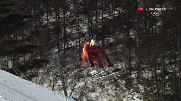 Svindal ha sabido esperar a la parte más técnica del descenso para cimentar su victoria en el descenso