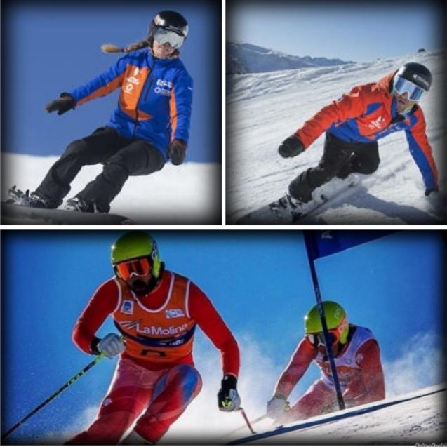 Los cuatro deportistas paralímpicos irán a por todas en PyeongChang