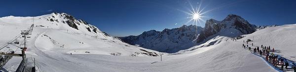 Grand Tourmalet es la estación de esquí más extensa del Pirieno francés