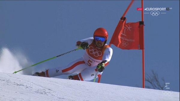 Segunda medalla de oro para Marcel Hirscher. Y todavía puede ganar una tercera en el slalom, donde partirá como máximo favorito