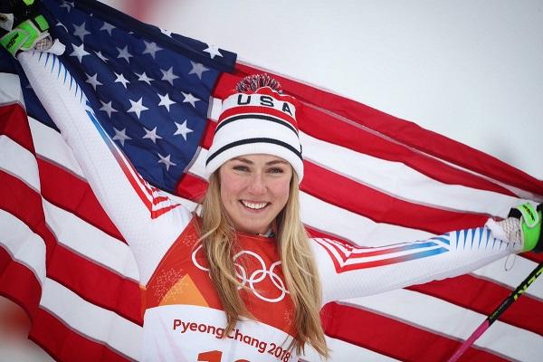 Mikaela Shiffrin acabó con un oro en gigante y una plata en la combinada