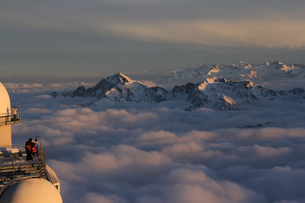 El Pic du Midi ofrece una panorámica total sobre todo el Pirineo FOTO: Nicolas Burgeois