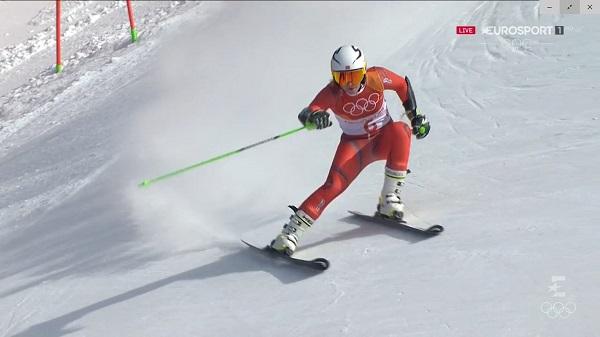 Ragnhild Mowinckel, plata, ha visto premiada la regularidad que lleva esta temporada