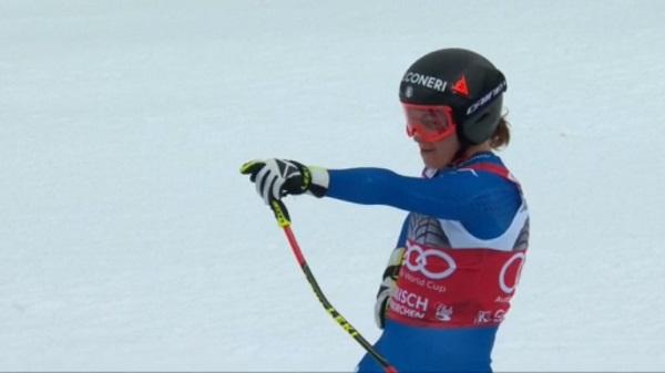 Sofia Goggia ha vuelto a ser batida por Lindsey Vonn pero conserva el liderato en la general de descenso
