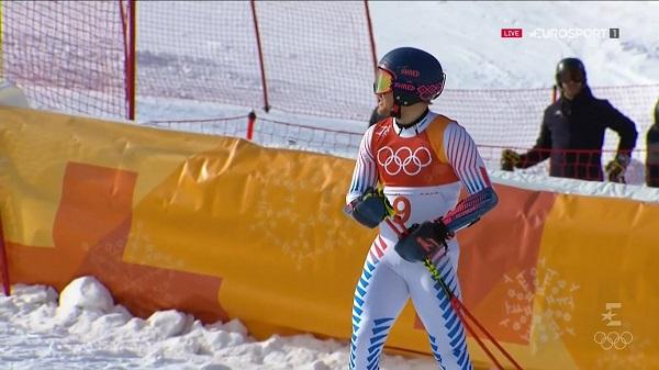 Ted Ligety defendía el título que ganó en Sochi pero en ningún momento ha estado en condición de revalidarlo