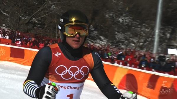 Thomas Dressen ha sido el mejor en la primera manga pero ha caído a la novena plaza tras el slalom
