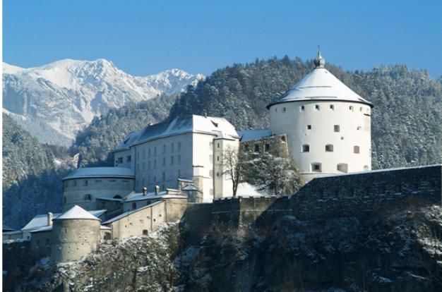 La fortaleza de Kufstein es uno de los atractivos de la región