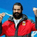 Regino Hernández, pletórico con la medalla conseguida en PyeongChang