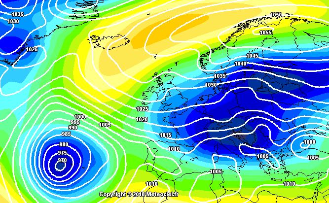 La ola de frío siberiano abrasará mañana todo el tercio norte peninsular