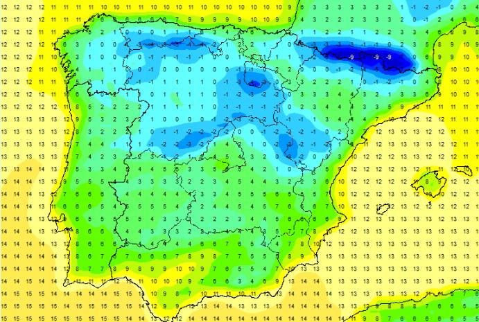 Las temperaturas podrán volver a bajar de manera evidente la semana próxima