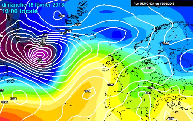 Los vientos del noreste se irán imponiendo de cara a domingo