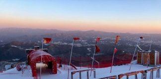 Se esperan fuertes vientos e intensas nevadas este fin de semana y la combinada alpina femenina se ha adelantado a la madrugada del miércoles al jueves