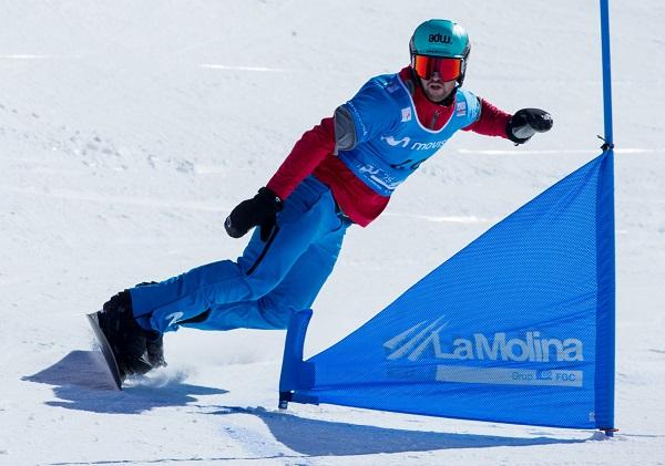 Lucas Eguibar se ha clasificado para la final de mañana en La Molina con el tercer mejor tiempo. FOTO: La Molina/RFEDI