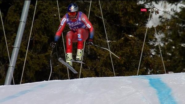 Aksel Lund Svindal ha compartido la tercera plaza del podio con Thomas Dressen