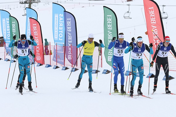 El francés Valentin Chauvin ha sido el vencedor del sprint senior masculino FOTO TUR