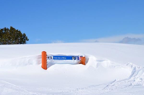 La cantidad y calidad de nieve la disfrutarán quienes se acerquen esta Semana Santa a Baqueira y, sobre todo, los participantes en las numerosas carreras sociales