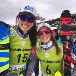 Josephine Forni, vencedora, y Nastasia Noens, segunda, un podio de color francés