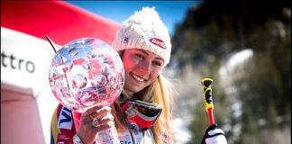 Mikaela Shiffrin ya acaricia su segundo Gran Globo de cristal