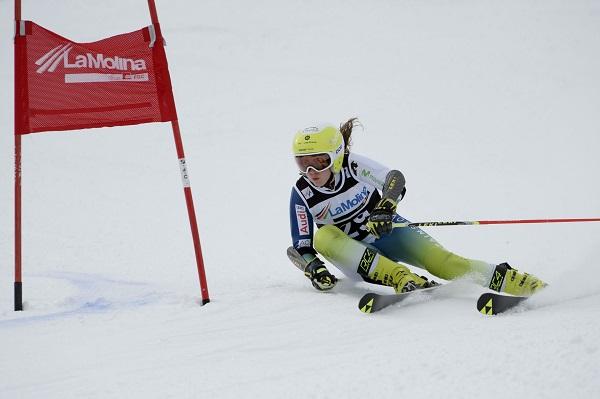Núria Pau ha acabado la 21ª en la primera manga pero ha cedido cinco plazas en la segunda FOTO: @oriolmolas