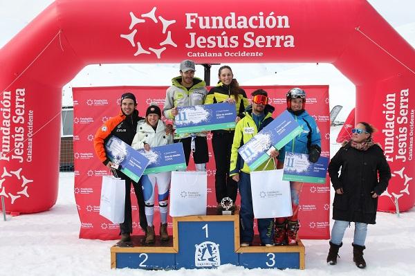 La undécima edición del Trofeo Jesús Serra tuvo lugar en Baqueira el pasado fin de semana FOTO: Tur