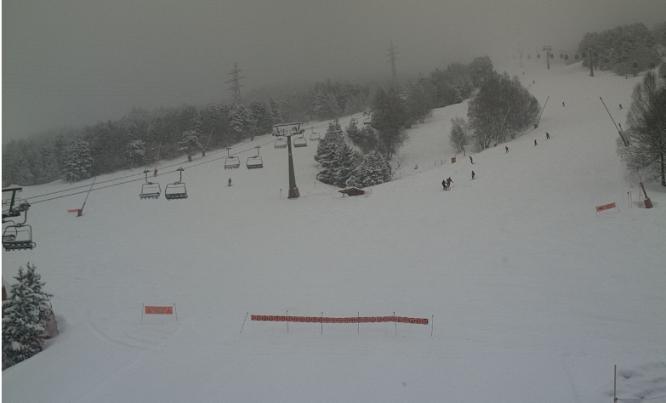 Así está Baqueira con más de 30 cm de nieve nueva
