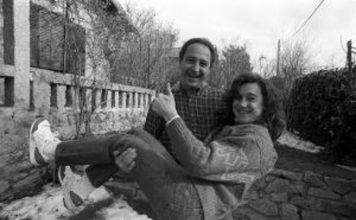 Paco y Blanca, en 1990. Foto: Manuel Escalera