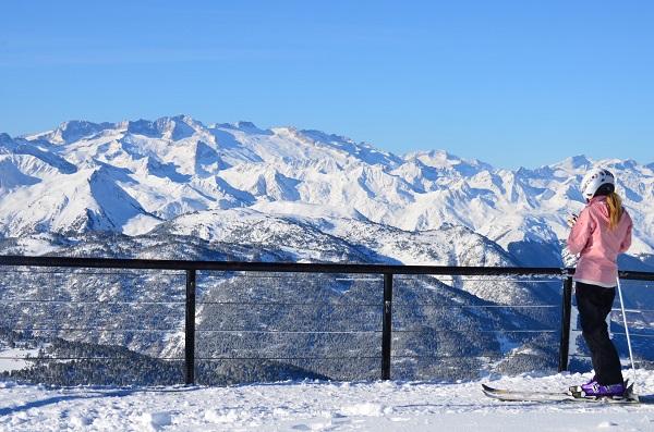 En total se han contabilizado 63 días de nevadas con una suma de espesores, antes de pisar, de hasta 10 metros FOTO: Baqueira Beret