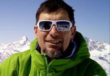 Román Bascuñana trabajaba como guía de montaña e instructor de escalada y esquí