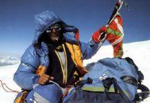 Mari Ábrego fue, junto a Josema Casimiro, el primer montañero estatal en hollar el K2