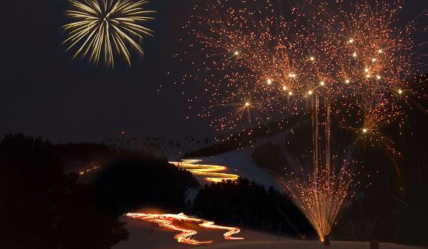 Bajadas nocturnas y fuegos artificiales para celebrar los 75 años de La Molina FOTO: FGC