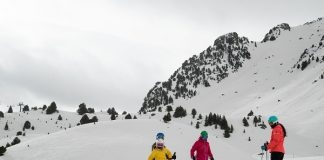 Las estaciones del grupo Aramón han superado el millón de esquiadores por quinto año consecutivo FOTO: Aramón