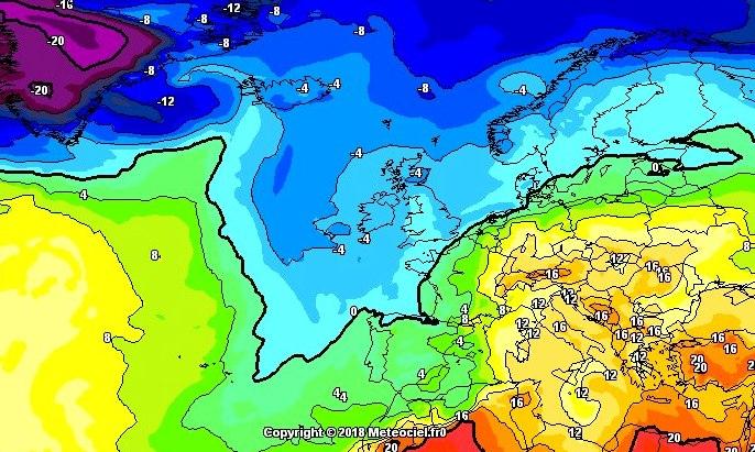 La perturbación del atlántico hará descender las temperaturas con nieve en las estaciones de esquí