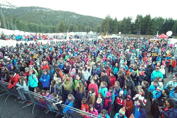 La estima Fest, que conmemoró los 75 años de la estación, un éxito rtundo FOTO: La Molina