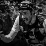 Luis Alberto en pleno trail running