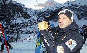 Jacques Théolier es el entrenador del equipo sueco de slalom