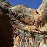 Imagen del barranco Portiacha donde ha fallecido un barranquista francés de 38 años FOTO: Turismo Somontano