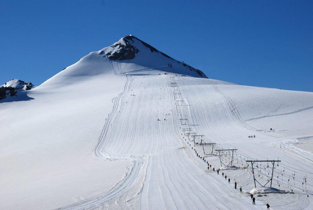 Otra instantánea del centro italiano de esquí