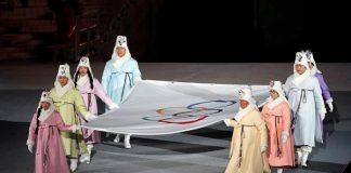 Detalle de la ceremonia de los Juegos de Invierno de Pyeongchang, donde se han detectado quince controles antidopaje anómalos