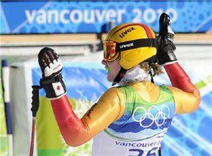 Tras disputar el super G de Vancouver 2010